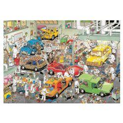 JUMBO -  L'ATELIER DE PEINTURE POUR AUTOMOBILES (500 PIÈCES) -  JAN VAN HAASTEREN
