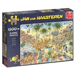 JUMBO -  L'OASIS (1500 PIÈCES) -  JAN VAN HAASTEREN