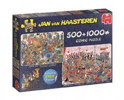 JUMBO -  LA RÉCEPTION + FÊTE DE LA BIÈRE (500 + 1000 PIÈCES) -  JAN VAN HAASTEREN
