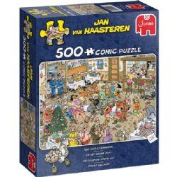 JUMBO -  RÉVEILLON DU NOUVEL AN (500 PIÈCES) -  JAN VAN HAASTEREN
