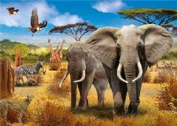 JUMBO -  SAVANNE AFRICAINE (500 PIÈCES)