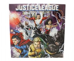 JUSTICE LEAGUE -  CALENDRIER MURAL 2020 (16 MOIS)
