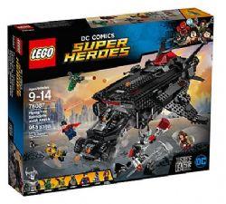 JUSTICE LEAGUE -  FLYING FOX : L'ATTAQUE AÉRIENNE DE LA BATMOBILE (955 PIÈCES) -  LEGO SUPER HEROES 76087