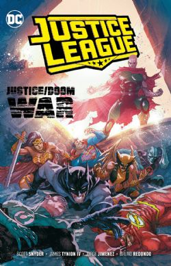 JUSTICE LEAGUE -  JUSTICE DOOM WAR TP -  JUSTICE LEAGUE VOL.4 (2018-) 05