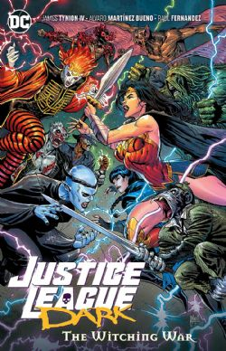 JUSTICE LEAGUE -  THE WITCHING WAR TP -  JUSTICE LEAGUE DARK 03