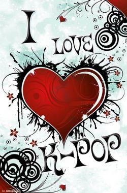 K-POP -  AFFICHE