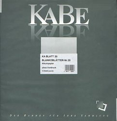 KABE CANADA -  PAGES BLANCHES (PQT DE 10)