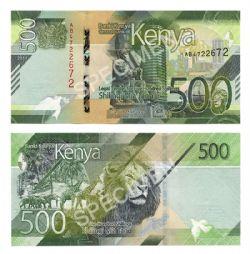 KENYA -  500 SHILLINGS 2019 (UNC)