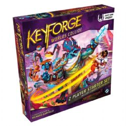 KEYFORGE -  2 PLAYER STARTER SET (ANGLAIS) -  WORLDS COLLIDE