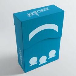KEYFORGE -  ARIES DECK BOX - BLEU
