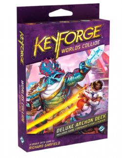 KEYFORGE -  DELUXE DECK (ANGLAIS) -  WORLDS COLLIDE