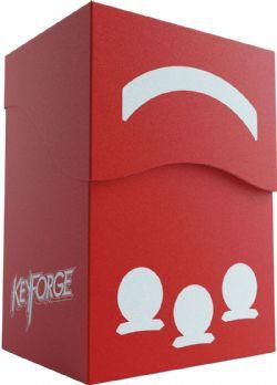 KEYFORGE -  GEMINI DECK BOX - ROUGE