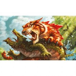 KEYFORGE -  MIGHTY TIGER SURFACE DE JEU (60CM X 35CM)