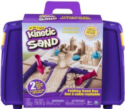 KINETIC SAND -  BAC À SABLE REPLIABLE