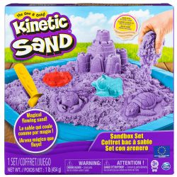 KINETIC SAND -  COFFRET BAC À SABLE BLEU