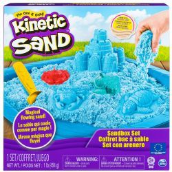KINETIC SAND -  COFFRET BAC À SABLE MAUVE
