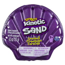 KINETIC SAND -  COQUILLAGE MAUVE (127G)