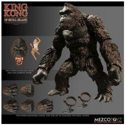 KING KONG -  FIGURINE ARTICULÉE DE KING KONG DE SKULL ISLAND AVEC ACCESSOIRES (18 CM)