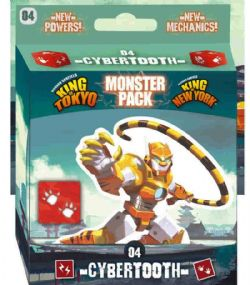 KING OF TOKYO -  CYBERTOOTH (ANGLAIS) -  MONSTER PACK