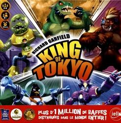 KING OF TOKYO -  JEU DE BASE (FRANCAIS)