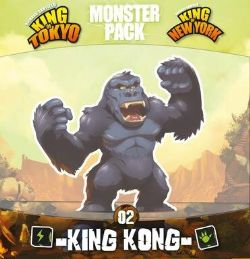 KING OF TOKYO -  KING KONG (FRANÇAIS) -  MONSTER PACK