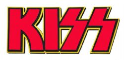 KISS -  PLAQUE MURALE EN MOUSSE LOGO