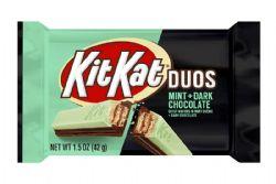 KIT KAT -  DUOS MINT + DARK CHOCOLATE