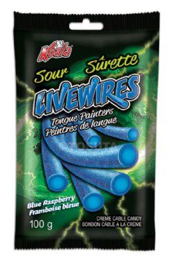 KOALA -  SACHET DE RÉGLISSE LIVEWIRES - FRAMBOISE BLEUE SÛRETTE (100G)