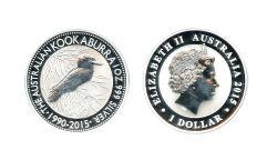 KOOKABURRA -  KOOKABURRA - PIÈCE D'UNE ONZE EN ARGENT PUR -  PIÈCES DE L'AUSTRALIE 2015