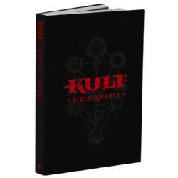 KULT: DIVINITY LOST -  CORE BOOK BLACK EDITION (ANGLAIS)