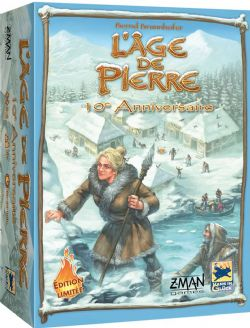 L'AGE DE PIERRE -  JEU DE BASE - 10E ANNIVERSAIRE (FRANÇAIS)