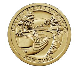 L'INNOVATION AMÉRICAINE -  DEWITT CLINTON : LE CANAL ÉRIÉ (NEW YORK)