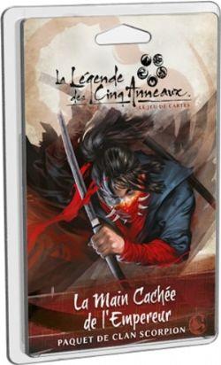 LA LÉGENDE DES CINQ ANNEAUX -  LA MAIN CACHÉE DE L'EMPEREUR - PAQUET DE CLAN SCORPION (FRANÇAIS)