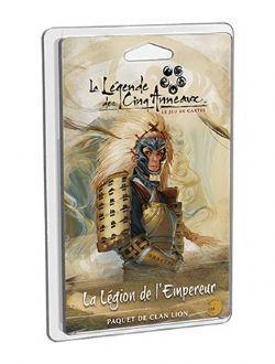 LA LÉGENDE DES CINQ ANNEAUX : LE JEU DE CARTES -  LÉGION DE L'EMPEREUR (FRANÇAIS)
