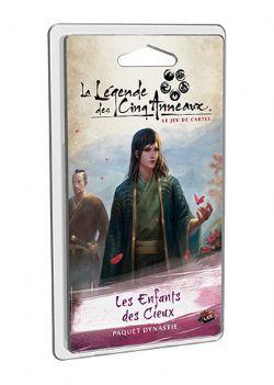 LA LÉGENDE DES CINQ ANNEAUX : LE JEU DE CARTES -  LES ENFANTS DES CIEUX (FRANÇAIS)
