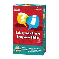 LA QUESTION IMPOSSIBLE 3 (FRANÇAIS)