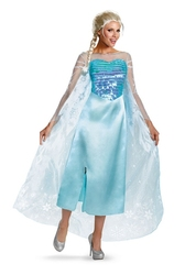 LA REINE DES NEIGES -  COSTUME DE LUXE DE ELSA -  PRINCESSES DISNEY
