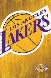 LAKERS DE LOS ANGELES -  AFFICHE