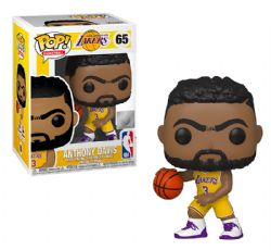 LAKERS DE LOS ANGELES -  FIGURINE POP! EN VINYLE DE ANTHONY DAVIS #3 (10 CM) 65