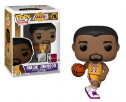LAKERS DE LOS ANGELES -  FIGURINE POP! EN VINYLE DE MAGIC JOHNSON #32 (10 CM) 78