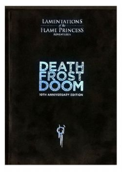 LAMENTATIONS OF THE FLAME PRINCESS -  DEATH FROST DOOM - 10TH ANNIVERSARY EDITION (ANGLAIS)