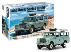 LAND ROVER -  LAND ROVER SERIES III 109 LWB WAGON W/ROOF RACK 1/24 (NIVEAU 5 - DIFFICILE)