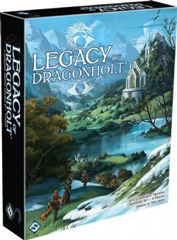 LEGACY OF DRAGONHOLT (ANGLAIS)
