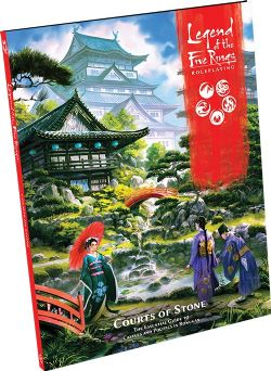 LEGEND OF THE FIVE RINGS : ROLEPLAYING -  COURTS OF STONE (ANGLAIS)