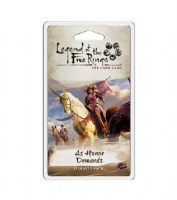 LEGEND OF THE FIVE RINGS : THE CARD GAME -  AS HONOR DEMANDS (ANGLAIS)