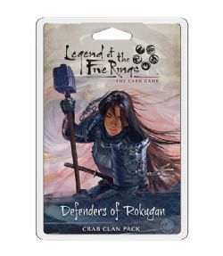 LEGEND OF THE FIVE RINGS : THE CARD GAME -  DEFENDERS OF ROKUGAN (ANGLAIS)