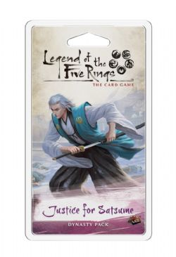 LEGEND OF THE FIVE RINGS : THE CARD GAME -  JUSTICE FOR SATSUME (ANGLAIS)