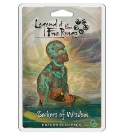 LEGEND OF THE FIVE RINGS : THE CARD GAME -  SEEKERS OF WISDOM (ANGLAIS)