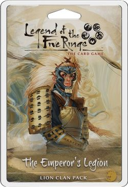 LEGEND OF THE FIVE RINGS : THE CARD GAME -  THE EMPEROR'S LEGION (ANGLAIS)