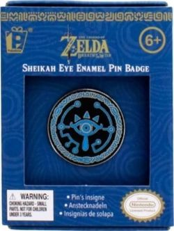 LEGEND OF ZELDA, THE -  ÉPINGLETTE OEIL SHEIKAH -  BREATH OF THE WILD